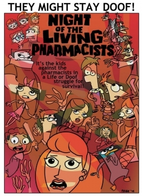 Night of the Living Pharmacists: Parts 1 & 2 (2014)